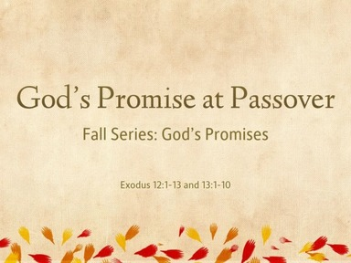 God's Promise at Passover