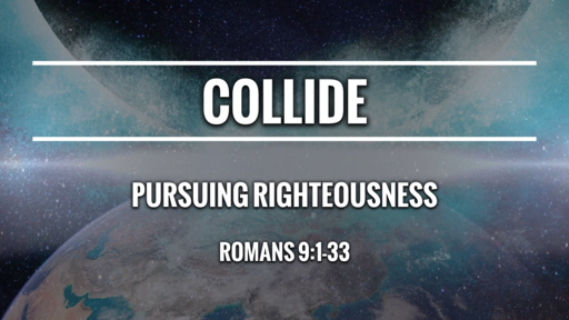 Pursuing Righteousness