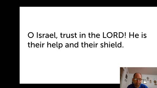 Wed.  Oct. 14,  '20 2nd Video PPT Psalm 115