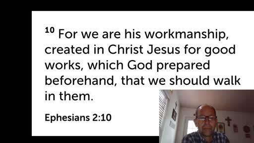Oct. 15,  '20 Men's first discipleship video