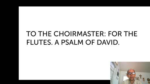 Sat. Oct. 17,  '20 1st  PPT Psalm 5