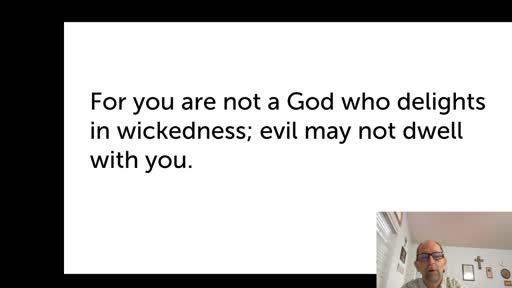 Sat.  Oct. 17,  '20 2nd PPT Psalm 5