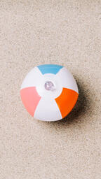 Beach Ball on Sand  image 8