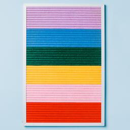 Letter Board on Blue Background  image 3