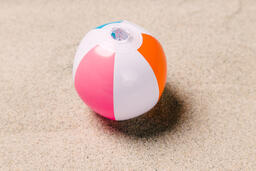 Beach Ball on Sand  image 16
