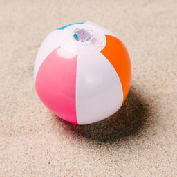 Beach Ball on Sand  image 10