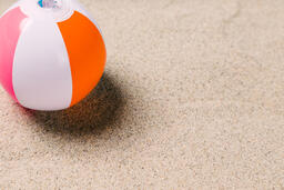 Beach Ball on Sand  image 15
