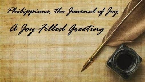A Joy- Filled Greeting
