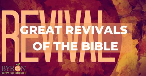 10.18.20, Gen 35, Great Revivals