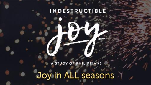 Part 1: Joy in All Seasons - 10/18/2020