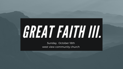 Great Faith III