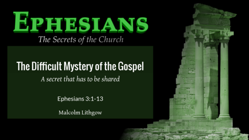 The Difficult Mystery of the Gospel