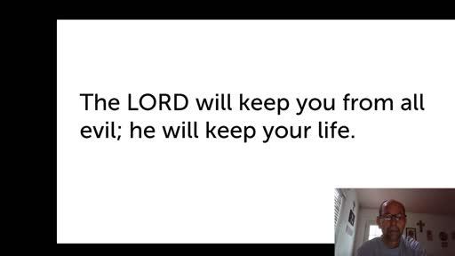 Mon. Oct. 19,  '20 4th PPT Psalm 121