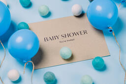 Boy Baby Shower Invitation  image 2