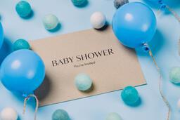 Boy Baby Shower Invitation  image 1