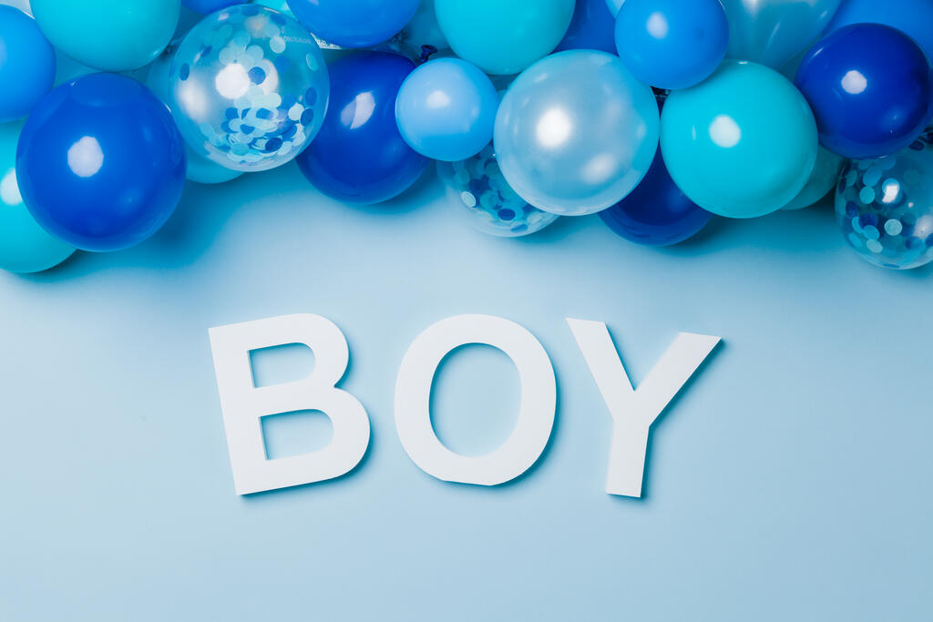 BOY with Blue Confetti large preview