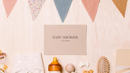 Baby Shower Invite with Baby Items  image 4
