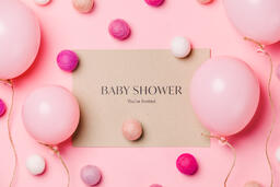 Girl Baby Shower Invitation  image 8