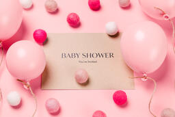 Girl Baby Shower Invitation  image 6