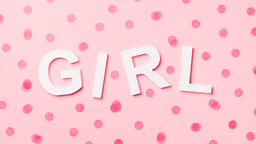 GIRL with Pink Confetti  image 3