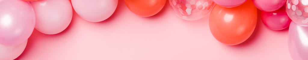 Pink Balloon Garland large preview
