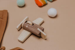 Wooden Toy Airplane  image 22