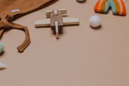 Wooden Toy Airplane  image 9