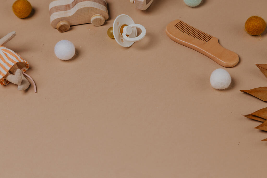 Wooden Toy Airplane large preview