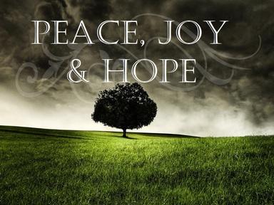 2019-07-21 Peace, Hope & Joy - #15