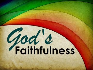 2019-04-28 Gods Faithfulness - #8