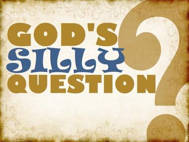 2020-09-27 God's Question