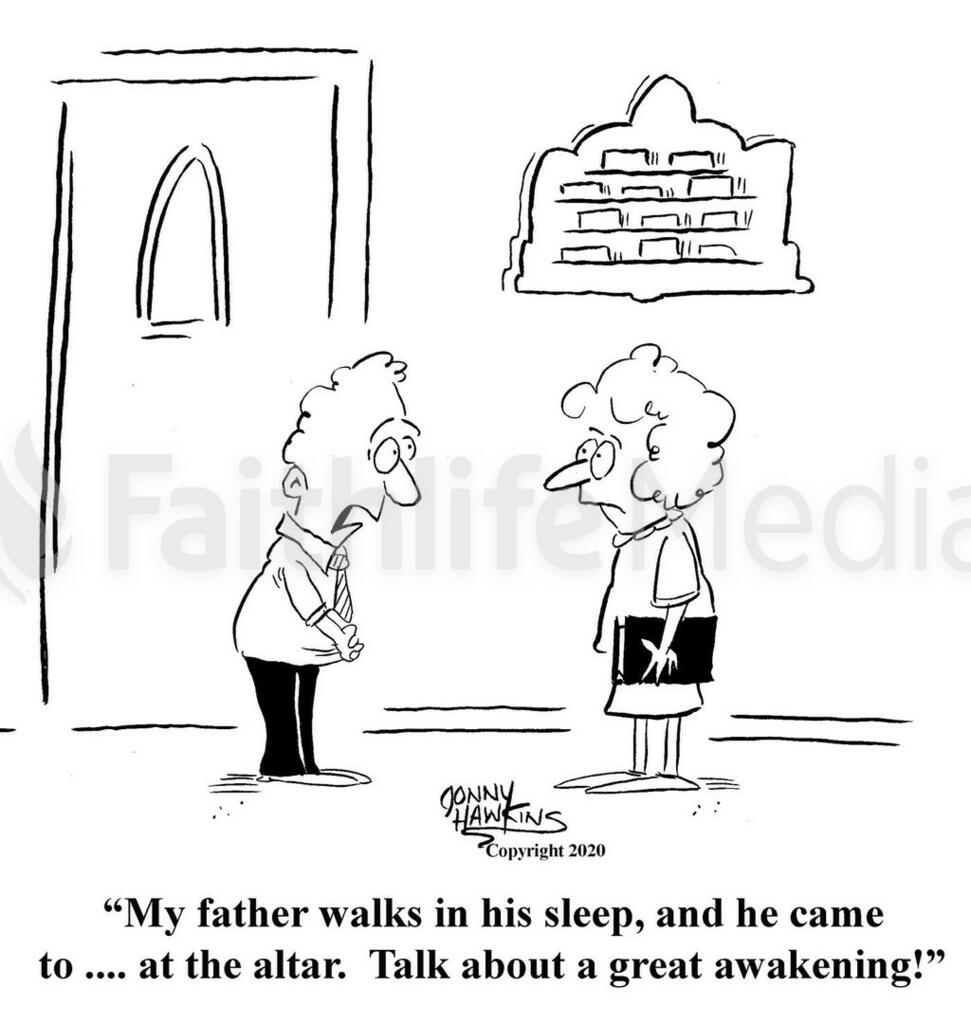 Father Walks in Sleep large preview
