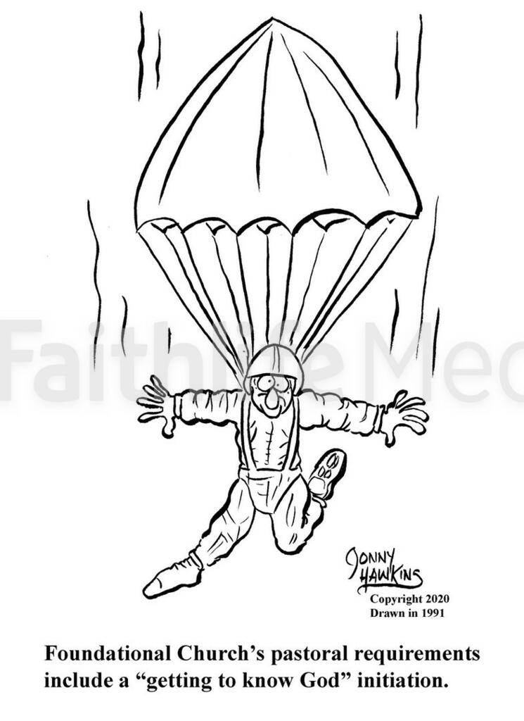 Skydiving Pastor large preview