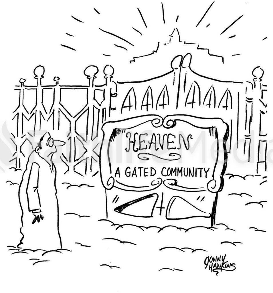 Gated large preview
