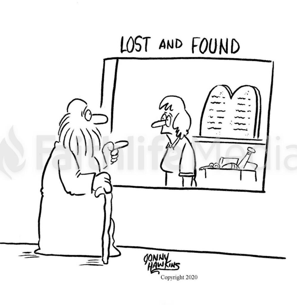 Moses Lost and Found RM large preview