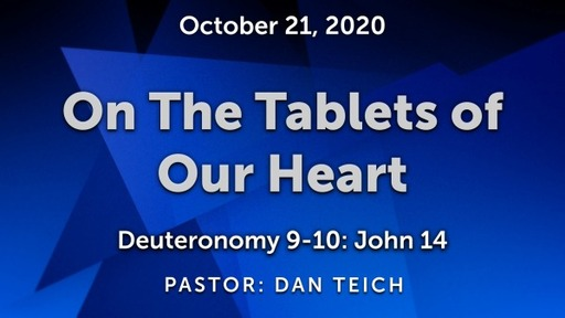 On The Tablets of Our Heart