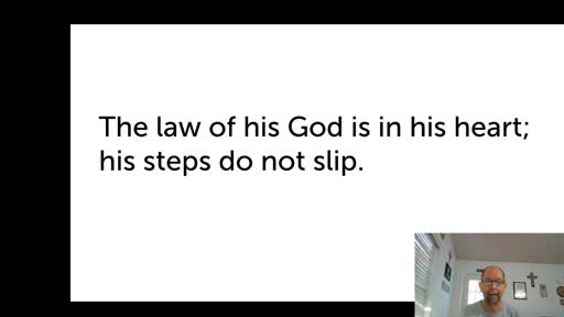 Sat. Oct. 24,   '20 3rd PPT Psalm 37
