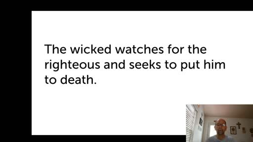 Sat.  Oct. 24,  '20  4th PPT Psalm 37