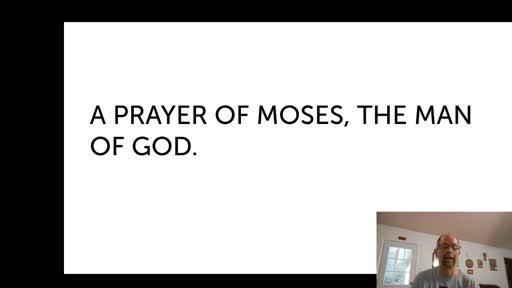 Mon.  Oct. 26,  '20 1st PPT Psalm 90