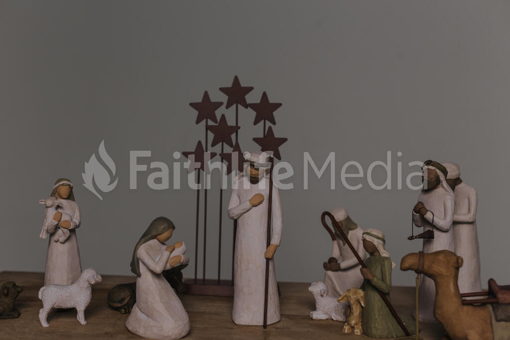 The Nativity Scene large preview