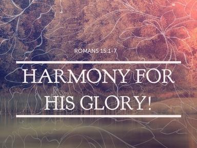 Harmony For His Glory