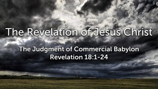 Sunday, October 25, 2020 - PM - The Judgment of Spiritual Babylon - Revelation 17:1-18