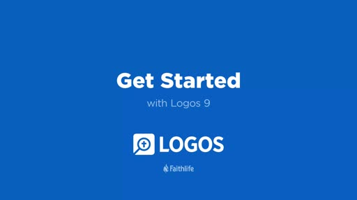 Get Started with Logos 9