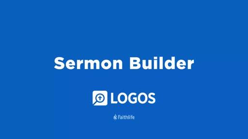Sermon Builder