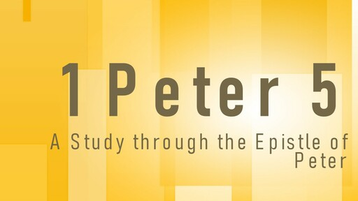1 Peter 5 and Contentment