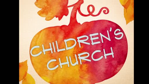 Children Church - Genesis Lesson 1