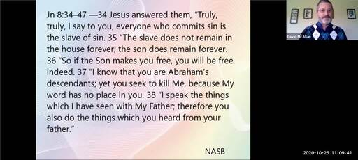 881 What did Jesus have to say about God the Father Pt.1
