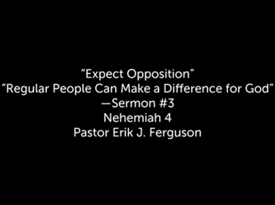 Regular People Can Make a Difference for God