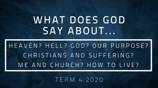 What does God say about ... ?