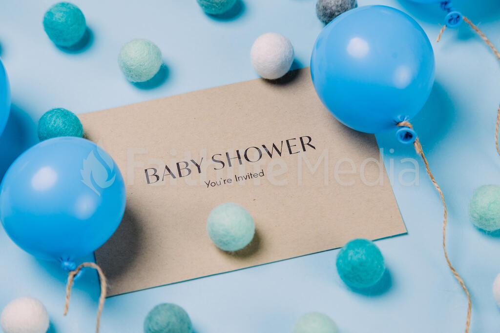 Boy Baby Shower Invitation large preview